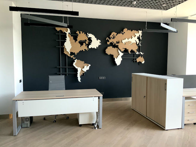 Фото Мы за комфорт: Рабочий стол от компании NAYDA